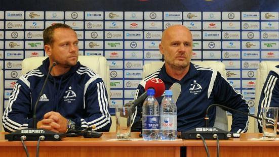 Michal Bílek moc dlouho na lavičce Dinama Tbilisi nevydržel.