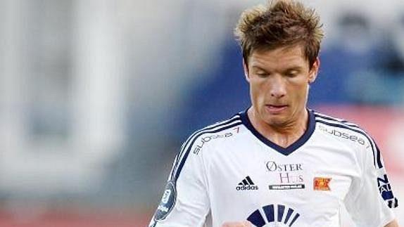 Martin Fillo ještě v dresu Vikingu Stavanger.