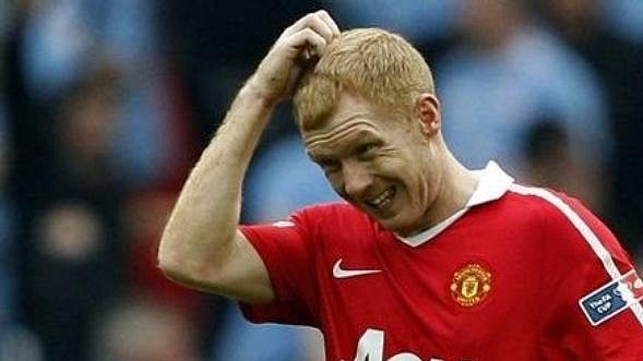 Paul Scholes pokračuje v Manchesteru United.