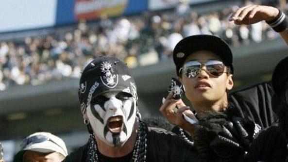 Fanoušci týmu Oakland Raiders patří k nejradikálnějším v celé NFL