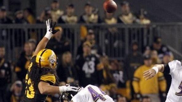 Joe Flacco dovedl Ravens k vítězství