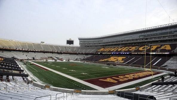 Vikings budou v době konstrukce nového stadiónu hrát na TCF Bank Stadium