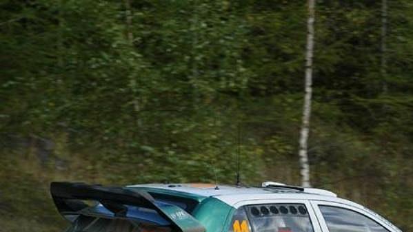 Škoda Fabia WRC.