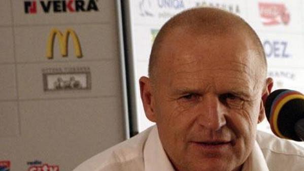Trenér Sparty Jaroslav Hřebík po zápase Sparta - Brno