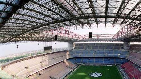 Milánský stadión San Siro.
