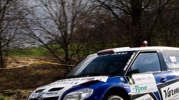 Pavel Valoušek vyhrál Rallye Vysočina.