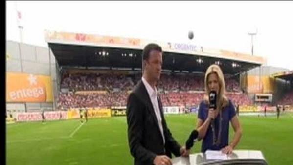 Moderátorka Sky Sports