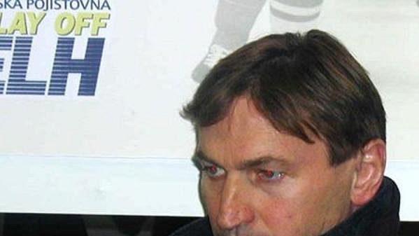 Trenér Sparty Alois Hadamczik.