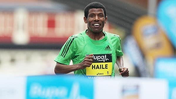 Haile Gebrselassie.