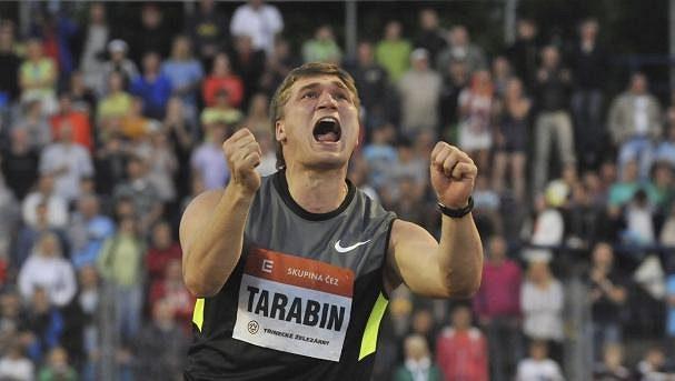 Dmitrij Tarabin poslal celé oštěpařské elitě pořádnou výzvu, vždyť 88,84 metru už dva roky nikdo nehodil.