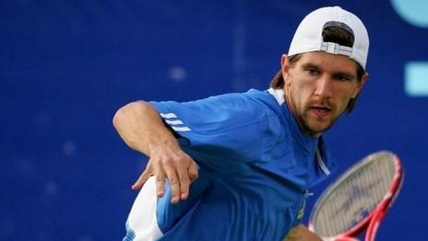 Rakouský tenista Jurgen Melzer.