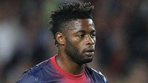 Kamerunský fotbalista Alex Song.
