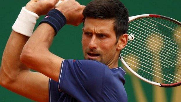 Nejlepší tenista světa Novak Djokovič.