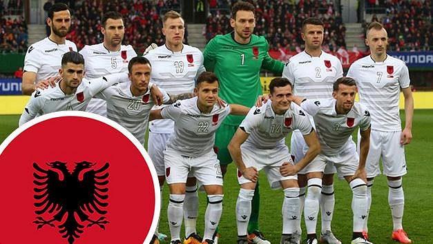 V albánské fotbalové reprezentaci najdeme i hráče potrestaného klubu.