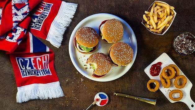 Mistrovství skončilo, ale nabušené menu od Burger King pokračuje