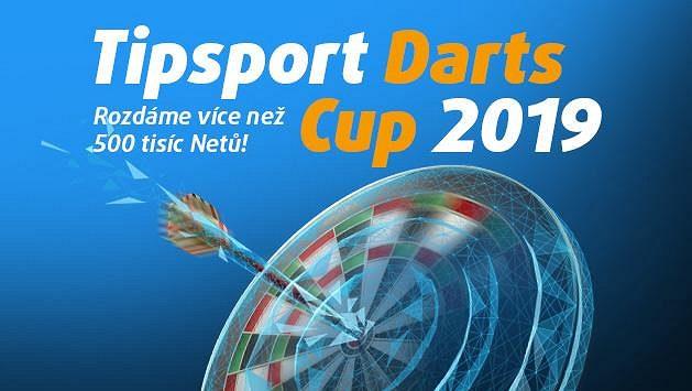 Přihlaste se na turnaj Tipsport Darts Cup 2019! Získejte 150 Kč zdarma!