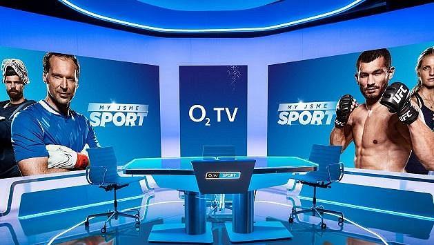 Nové moderní studio redakce O2 TV