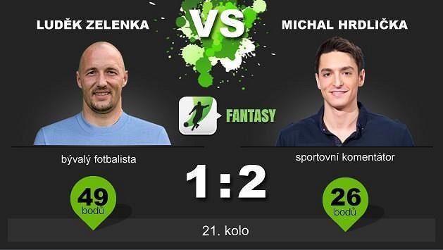 Luděk Zelenka získal svůj první bod!