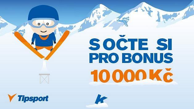 Vsaďte si během her v Soči a získejte bonus až 10 000 Kč!