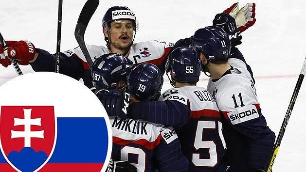 Hokejisté Slovenska si zahrají proti české reprezentaci
