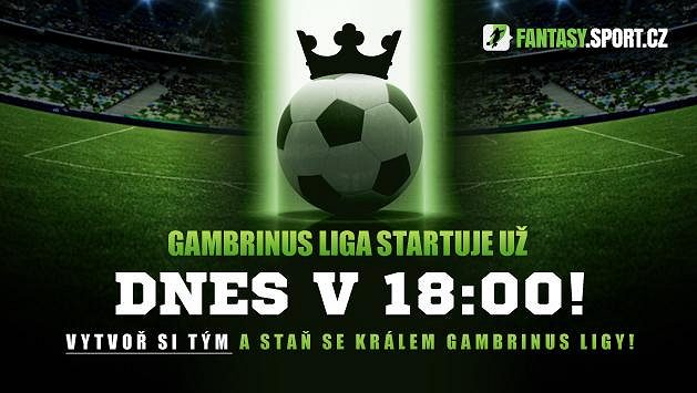Dnes začíná Gamrbinus liga! Vytvořte si svůj fantasy tým!