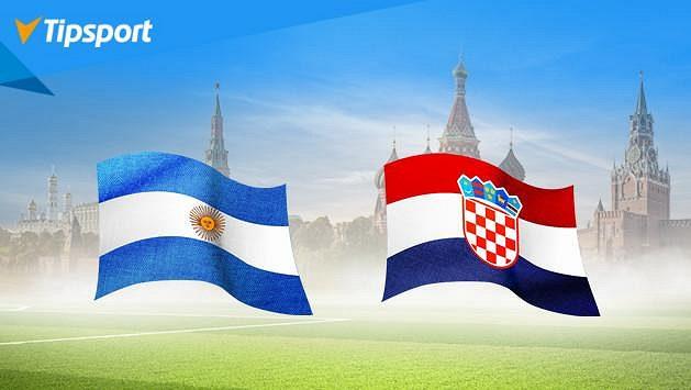 Spraví si Argentina chuť proti Chorvatům? Vsaďte si na MS v Tipsportu a získejte 1 000 Kč zdarma
