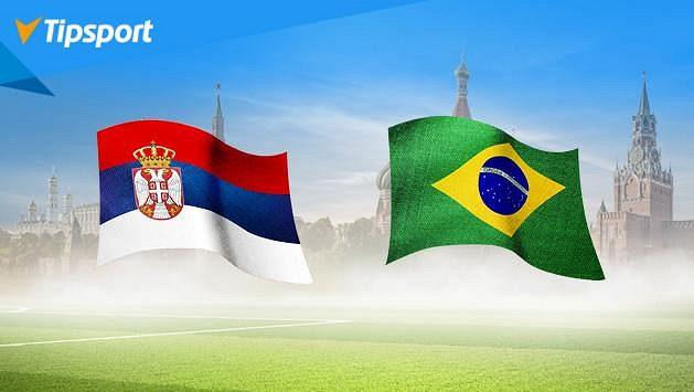 Brazílie a Německo za postupem? Vsaďte si na MS v Tipsportu a získejte 1 000 Kč zdarma