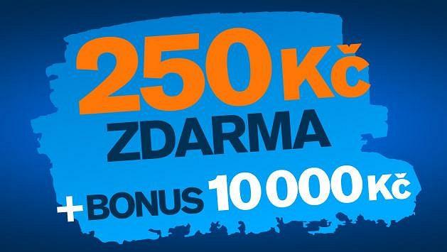 Získejte zdarma 250 Kč! Přidejte se do sázkařské komunity Tipsportu