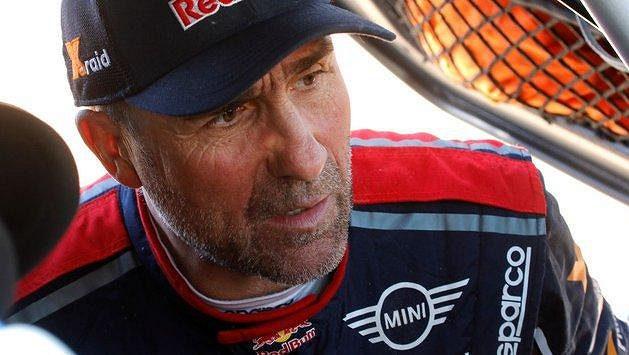 Rekordman v počtu vítězství na Dakaru Stéphane Peterhansel.