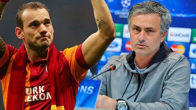 Budou Wesley Sneijder a José Mourinho znovu působit v jednom klubu?