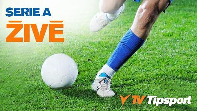 Sledujte italskou Serii A v přímých přenosech na TV Tipsport a získejte zdarma 150 Kč!