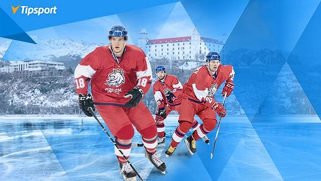 Zlatá sborná? Vsaďte si a sledujte MS na Slovensku živě na TV Tipsport! Získejte navíc 500 Kč zdarma!