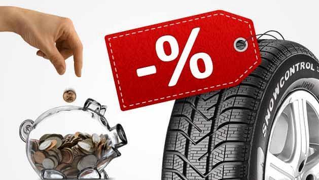 Nákup pneumatik na internetu šetří nejen peníze
