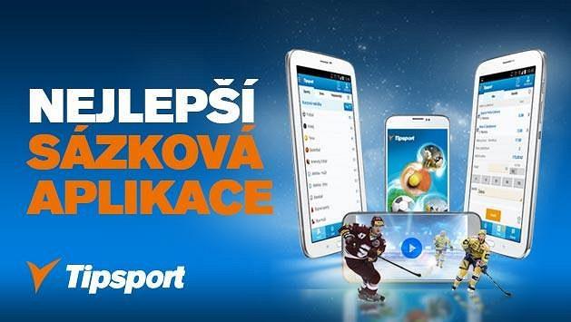 Stáhněte si sázkovou aplikaci od Tipsportu, nejrychlejší a nejpohodlnější aplikaci s nejširší nabídkou streamů.