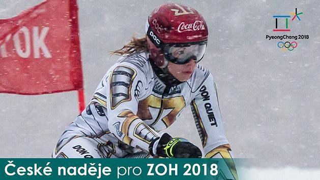 Snowboardistka a sjezdařka Ester Ledecká.