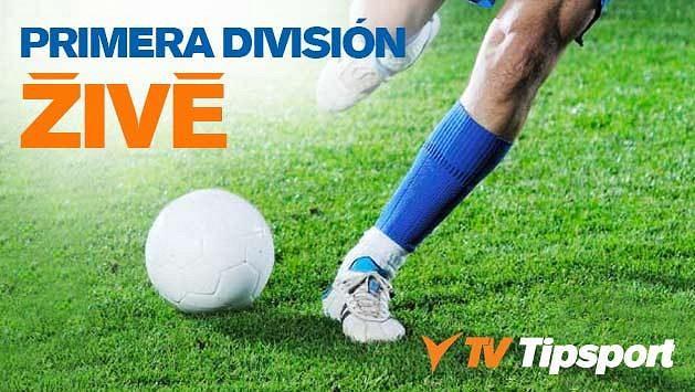 Sledujte Primera División v přímých přenosech na TV Tipsport a získejte zdarma 150 Kč!