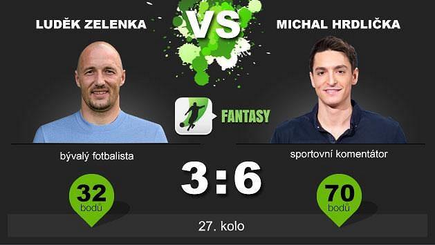 Luděk Zelenka nemá šanci souboj vyhrát.