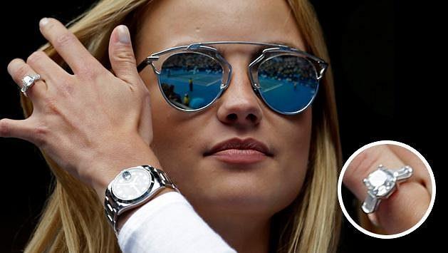 Ester Sátorová a její zázračný prsten během Berdychova duelu s Nadalem.