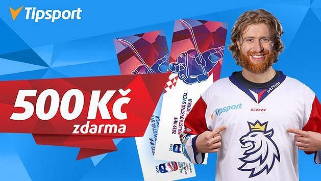 Máme pro vás 2 000 lístků na hokejové MS a 500 Kč zdarma!