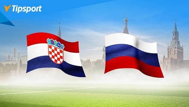 Chorvati ukončí ruský sen! Vsaďte si na MS v Tipsportu a získejte 1000 Kč zdarma