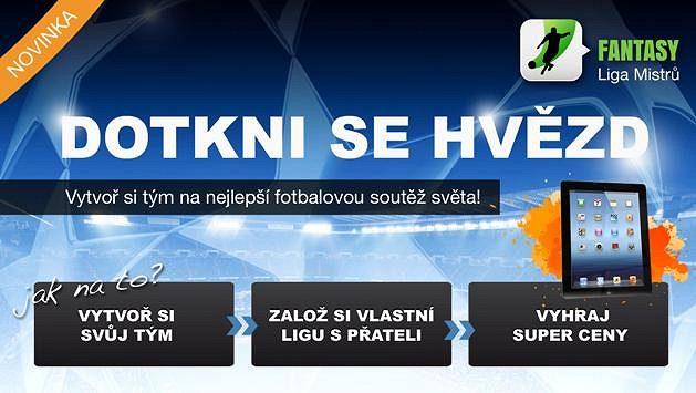 Nejlepší fotbalová soutěž světa Liga Mistrů pouze na sport.cz! Vytvořte si svůj vlastní tým a ovládněte fotbalový svět!