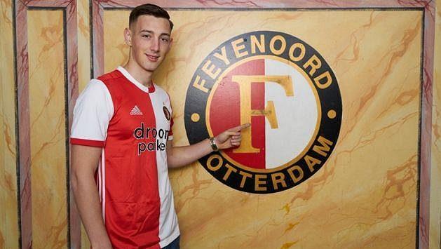 Róbert Boženík už patří Feyenoordu Rotterdam.