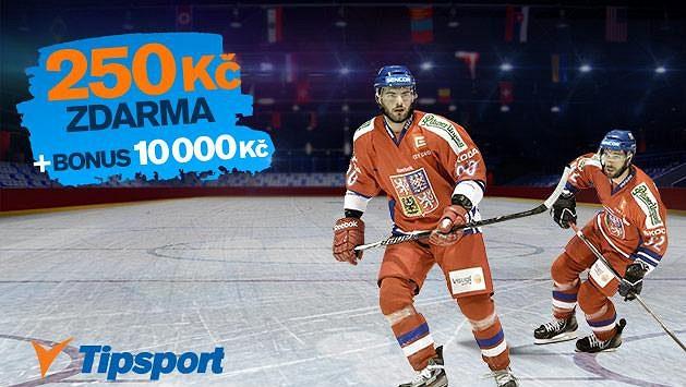 Přijďte si do Tipsportu pro 250 korun na sázení. Takový bonus v jiné sázkové kanceláři nedostanete.