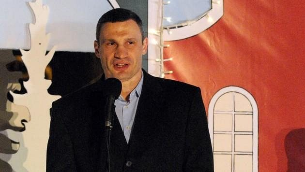 Ukrajinský boxer Vladimir Kličko.