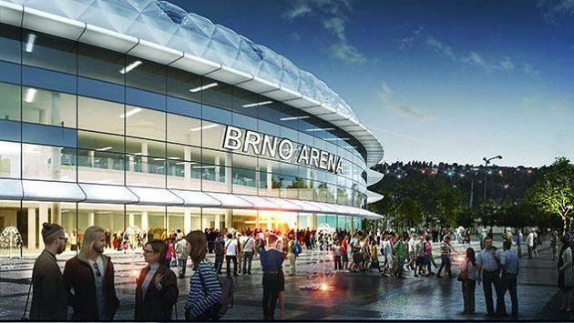 Takhle by měl vypadat nový stadion hokejistů Komety Brno.
