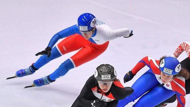 Michaela Hrůzová Sejpalová (nahoře) předvedla výborný výkon (archivní foto)