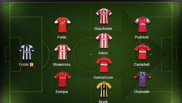 Nejlepší jedenáctka druhého Fantasy kola Premier League.
