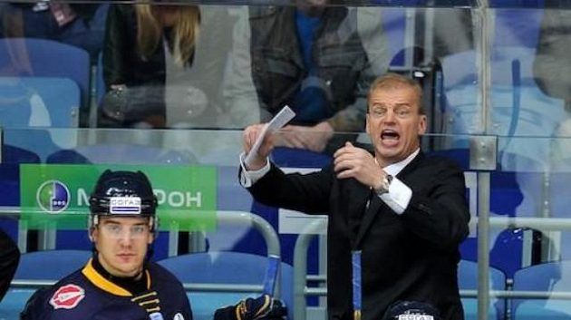 Bengt-Ake Gustafsson už hokejisty Atlantu Mytišči nepovede