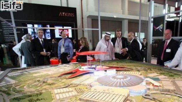 Model centra v Abú Dhabi, ve Spojených arabských emirátech se pojede také rallye.
