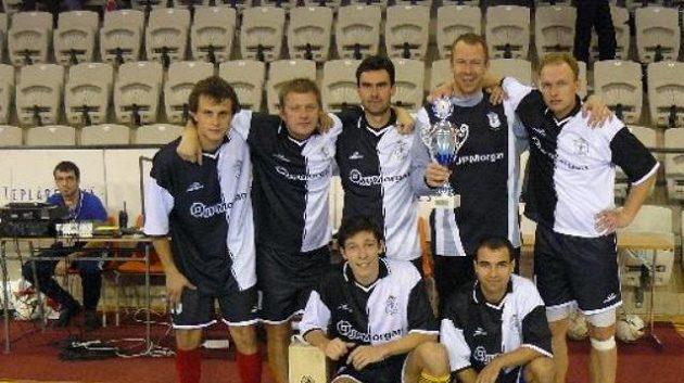 Vítěz Euro Golden Tour 2010 - tým JP Morgan